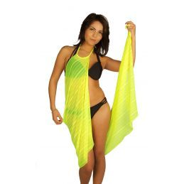 Robe pareo jaune Collection Vip Pareos CV-PAREOJAUNE Lerotika