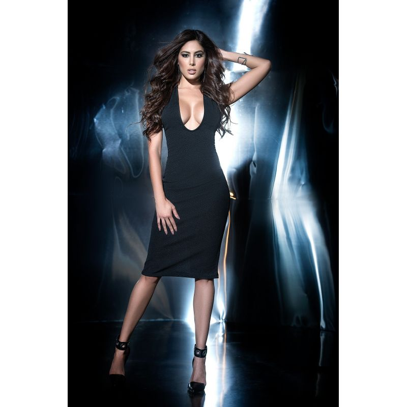 Dress black 4453 Mapalé