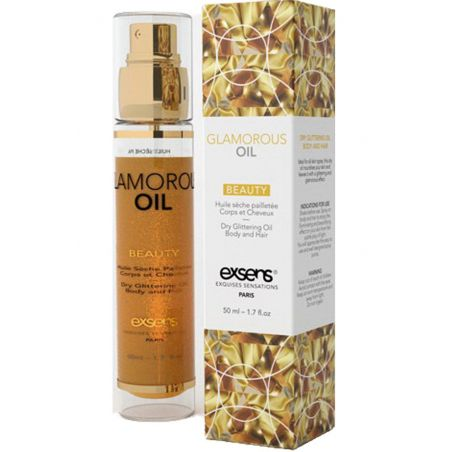 Glam oil 50ml Exsens Huiles de Massage EX-03199 Lerotika