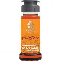 Huile de massage Abricot Orange 50ml Swede Huiles de Massage SWD-01982 Lerotika