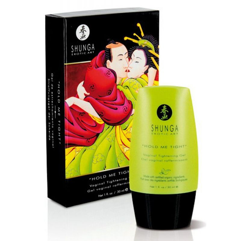 Hold me tight - gel vaginal raffermissant bio Shunga Plaisirs Intimes SH2-01078 Lerotika