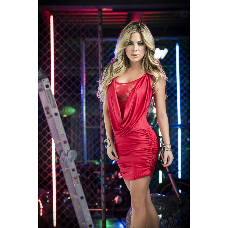 Dress red 4249 Mapalé