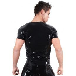 Tee Shirt en Latex - M LateX T-shirts BDSM 2200096000200 Lerotika