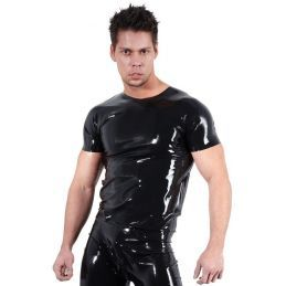 Tee Shirt en Latex - XL LateX T-shirts BDSM 2200096000400 Lerotika