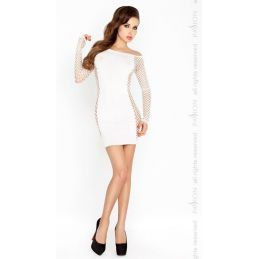 Robe blanche BS025 - TU Passion Robes Sexy 3500374000500 Lerotika