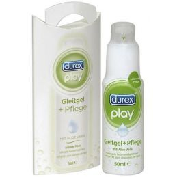 Gel Durex Play Aloe Vera - 50 ml Durex Lubrifiants à base d'eau 4100111000000 Lerotika