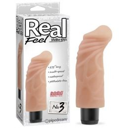 Vibromasseur réaliste Real Feel 3 - 14 cm Pipedream USA Vibromasseurs Point G 1819450000000 Lerotika