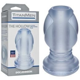 Gode Anal Creux Transparent - The Hollow Doc Johnson USA Plugs en Silicone 1840930000000 Lerotika