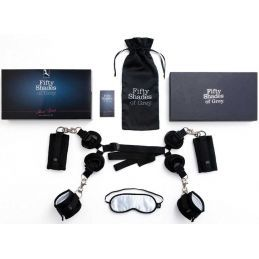 Kit de Bondage Hard Limits Fifty Shade Of Grey 50 Nuances de Grey 5000466000000 Lerotika