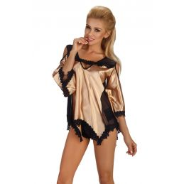 Malvine Gold Beauty Night Déshabillés BN-01358