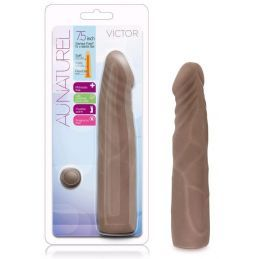 Dong Chocolat Victor Toucher Peau Au Naturel - 17,5 cm Blush Novelties Godes Dong 1844070000000 Lerotika