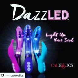 Vibromasseur Rechargeable Lumineux DazzLED Radiance California Exotic USA Vibromasseurs Rechargeables 1846150000000 Lerotika