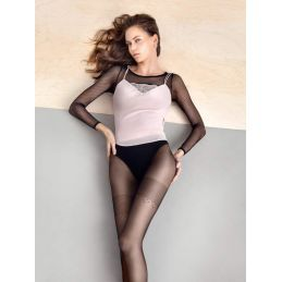 Collant Stay Simple noir 20den Fiore Collants Fantaisies & Résilles FI-4034 Lerotika