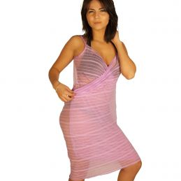 Robe pareo mauve Collection Vip Pareos CV-PAREOMAUVE Lerotika