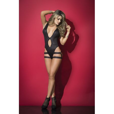 Bodysuit harness black 2500 Mapalé Bodys MAP-3639 Lerotika