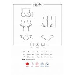 Heartina Corset Red Obsessive
